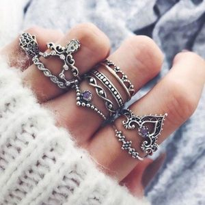 Jewelry - 10pc Ring Set